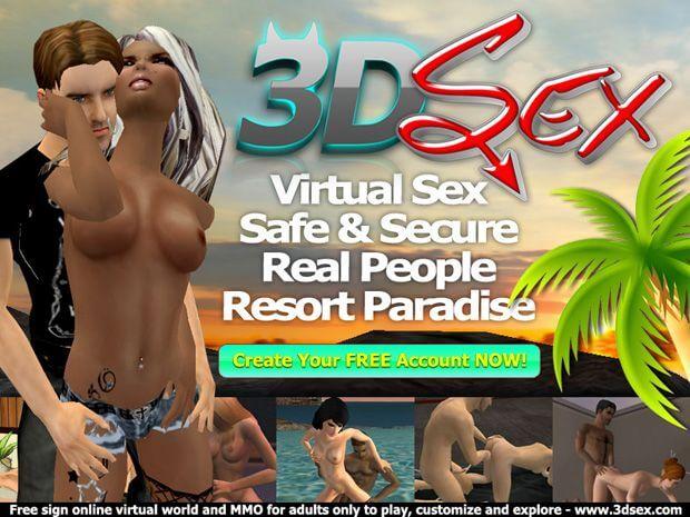 3D Sex online adult MMRPG