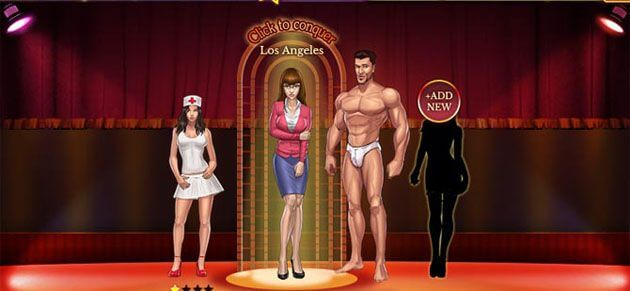 Sex Gangsters adult flash game review