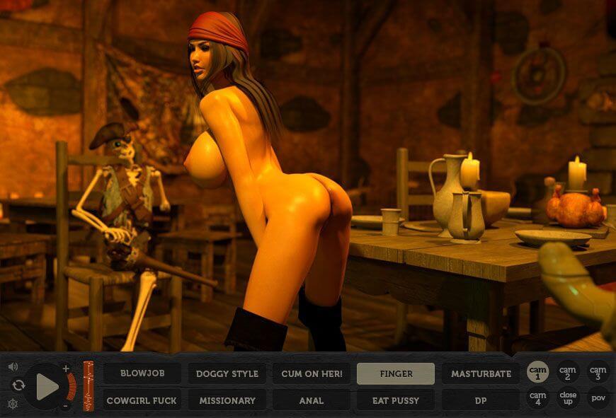 Pirate Cum Porn